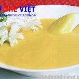 Cách nấu món súp bí bằng lò viba