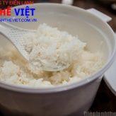 Hướng dẫn cách nấu cơm tẻ bằng lò viba chỉ với 12 phút